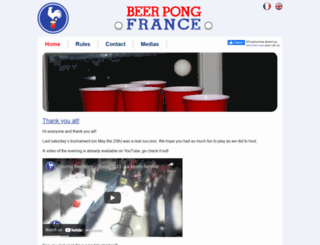beerpongfrance.com screenshot