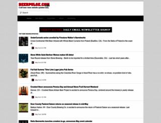 beerpulse.com screenshot