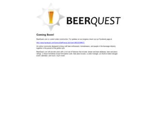 beerquest.com screenshot