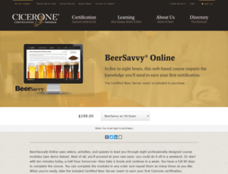 beersavvy.com screenshot