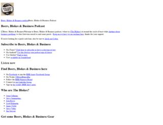 beersblokesbusiness.com screenshot