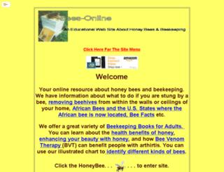 bees-online.com screenshot
