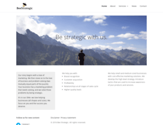 beestrategic.com screenshot