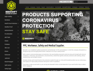 beeswift.co.uk screenshot