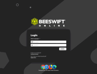 beeswiftonline.com screenshot