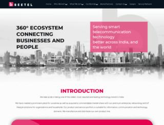 beetel.in screenshot