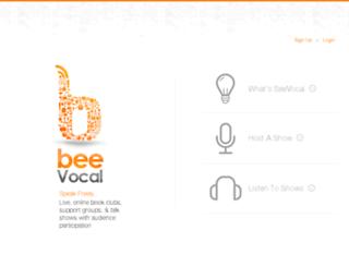 beevocal.com screenshot