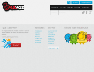 beevoz.com.ar screenshot