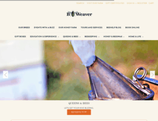 beeweaver.com screenshot