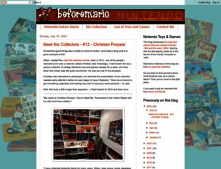 beforemario.com screenshot