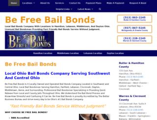 befreebailbonds.com screenshot
