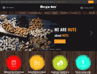 beganuts.com screenshot