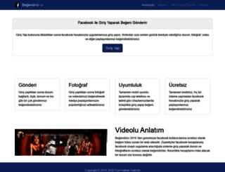 begendirici.com screenshot