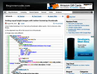 beginnercode.com screenshot
