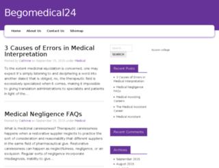 begomedical24.com screenshot