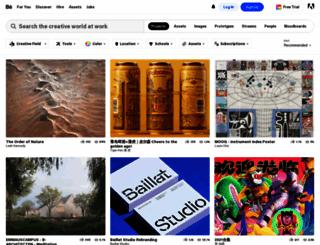 behance.net screenshot