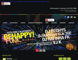 behappybar.com.br screenshot