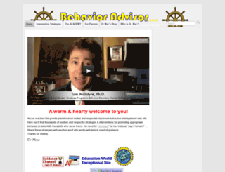 behavioradvisor.com screenshot
