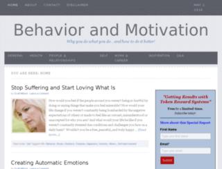 behaviorandmotivation.com screenshot