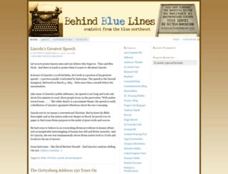 behindbluelines.com screenshot