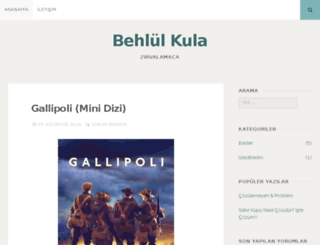 behlulkula.wordpress.com screenshot