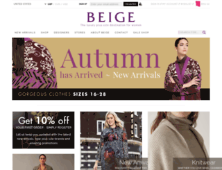 beigeplus-shop.com screenshot