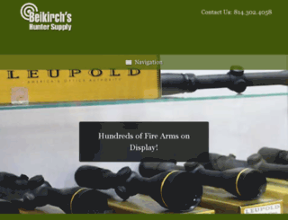beikirchshuntersupply.com screenshot