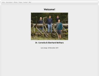 beilharz-family.de screenshot
