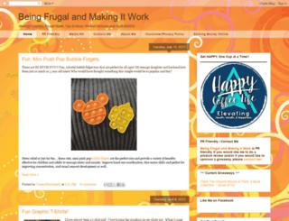 beingfrugalandmakingitwork.com screenshot