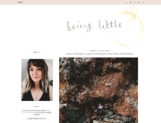 beinglittle.co.uk screenshot
