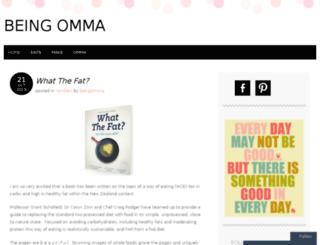 beingomma.wordpress.com screenshot