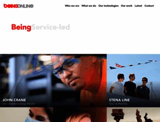 beingonline.co.uk screenshot