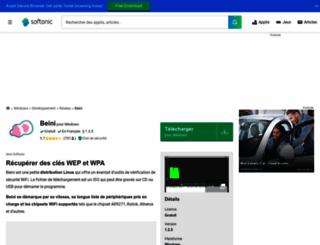 beini.softonic.fr screenshot