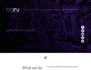 beinmediagroup.com screenshot