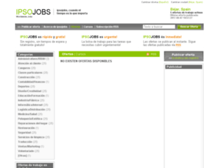 bejar.ipsojobs.com screenshot
