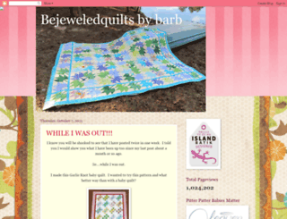 bejeweledquilts.blogspot.com screenshot