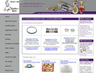 bejewelledgoddess.com screenshot