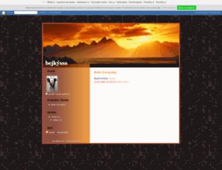 bejkysss.txt.cz screenshot