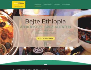 bejte-ethiopia.de screenshot