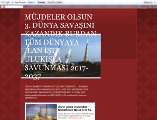 beklenensavas.blogspot.com.tr screenshot