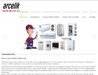 bekoarcelikservis.net screenshot
