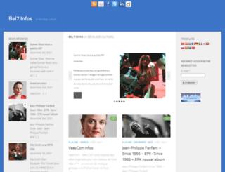 bel7infos.eu screenshot