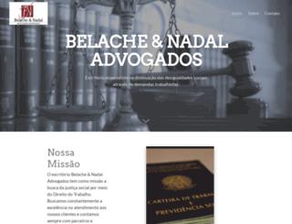 belachenadal.com.br screenshot