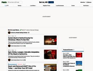 belair.patch.com screenshot