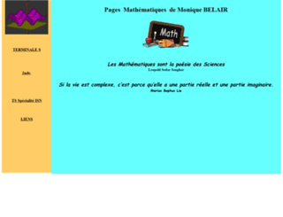 belairmaths.free.fr screenshot