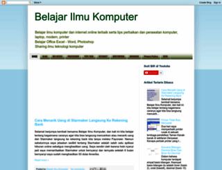 belajar-ilmu-komputer.blogspot.com screenshot