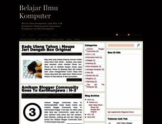 belajar-tentangkomputer.blogspot.com screenshot
