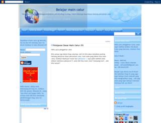 belajarcatur.blogspot.com screenshot