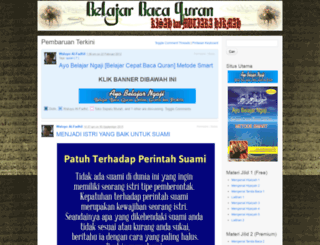 belajarmembacaalquran.wordpress.com screenshot