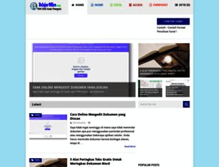 belajaroffice.com screenshot